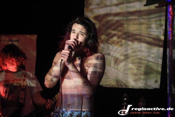 Jung und pissed - Fotos: Pissed Onion live beim Mannheimer Winteraward 2014